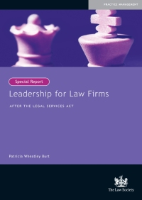 Leadership for Law Firms